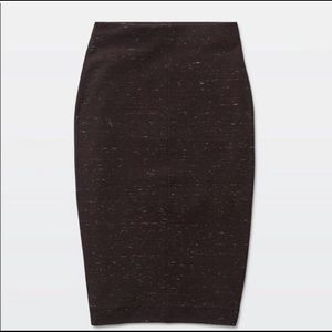 ARITZIA WILFRED LIS WOOL BLEND SKIRT